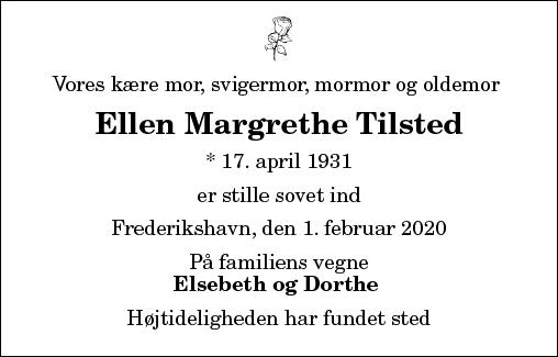 Ellen Margrethe Tilsted