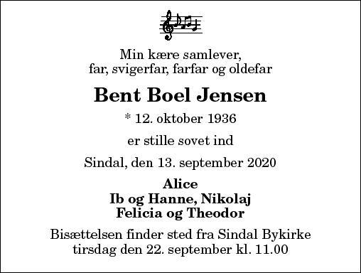 Bent Boel Jensen