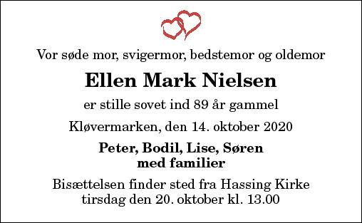 Ellen Mark Nielsen