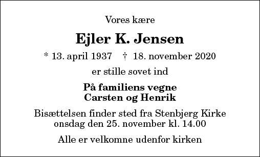 Ejler K. Jensen