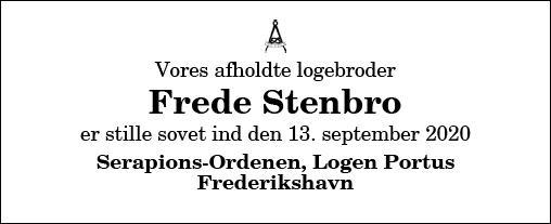 Frede Stenbro
