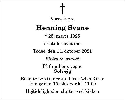 Henning Svane