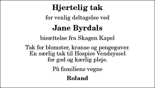 Jane Christensen Byrdal