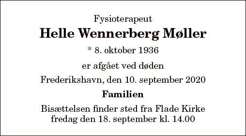 Helle Wennerberg Møller