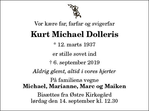 Kurt Michael Dolleris