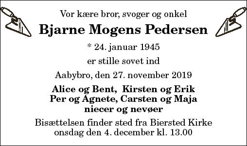 Bjarne Mogens Pedersen