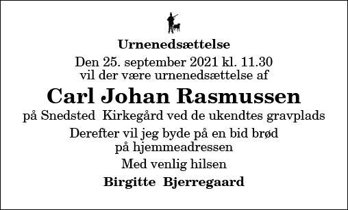 Carl Johan Rasmussen