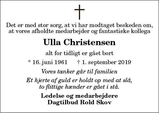 Ulla Christensen