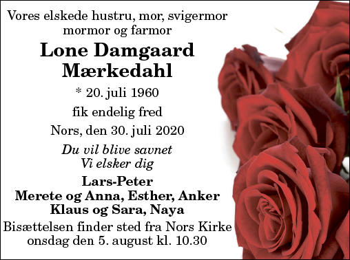 Lone Damgaard Mærkedahl