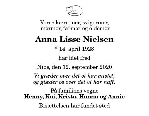 Anna Lisse Nielsen