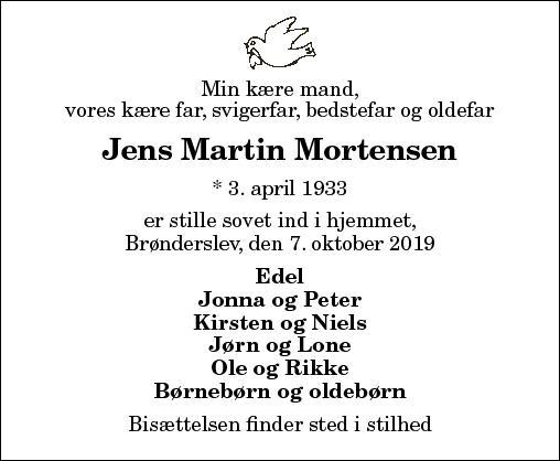 Jens Martin Mortensen