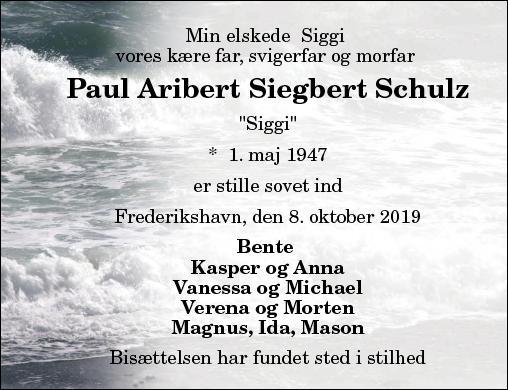 Paul A. S. Schulz
