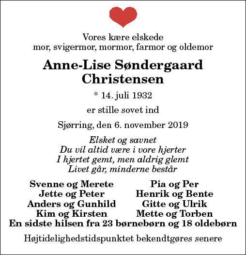 Anne Lise Christensen