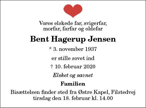 Bent Hagerup Jensen