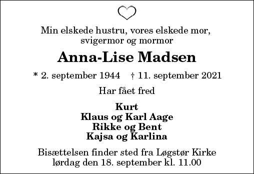 Anne Lise Madsen