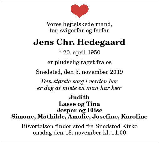 Jens Chr. Hedegaard
