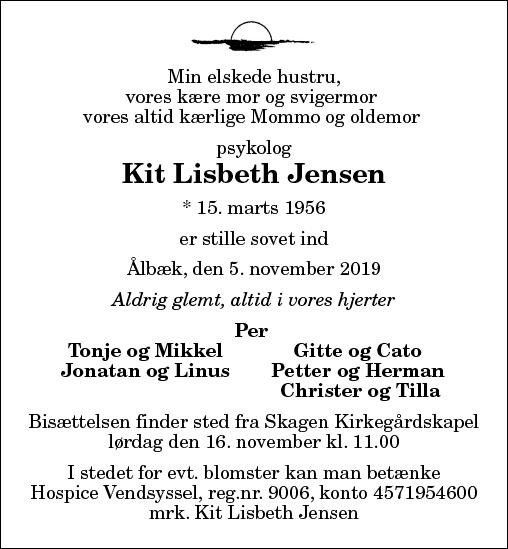 Kit Lisbeth Jensen