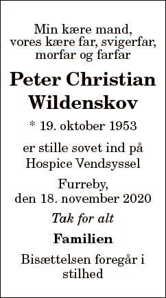 Peter Christian Wildenskov