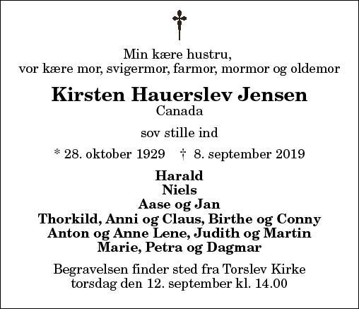 Kirsten Hauerslev Jensen