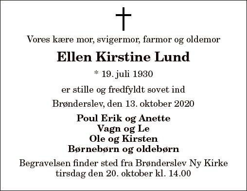 Ellen Kirstine Lund