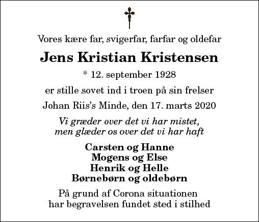 Jens Kristian Kristensen