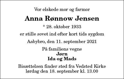 Anna Rønnow Jensen