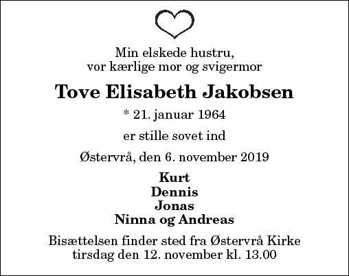 Tove Elisabeth Jakobsen