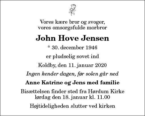 John Hove Jensen