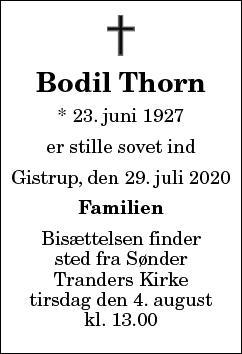 Bodil Thorn