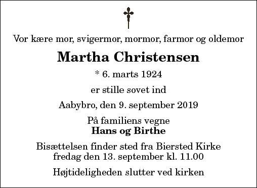 Martha Agathe Christensen