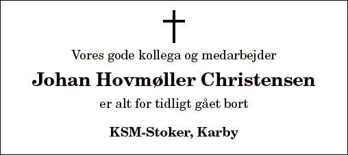 Johan Hovmøller Christensen
