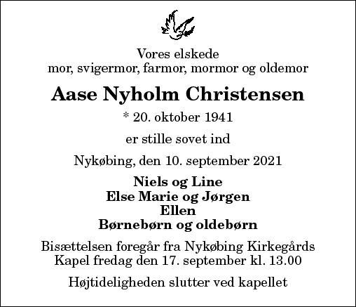 Aase Nyholm Christensen
