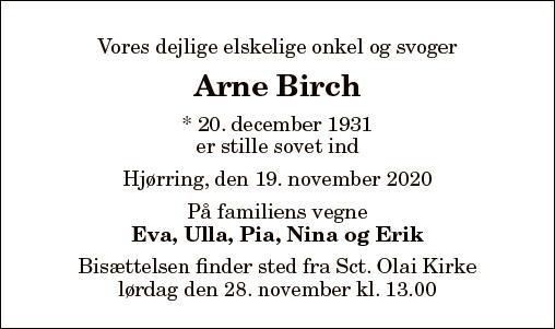 Arne Birch