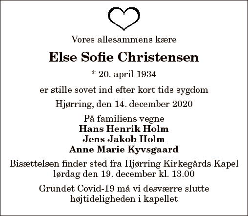 Else Sofie Christensen