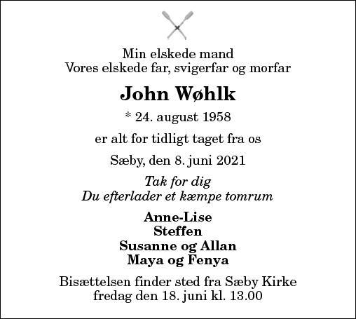John Wøhlk