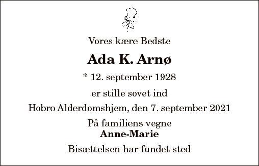 Ada K. Arnø
