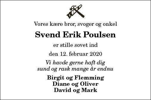 Svend Erik Poulsen