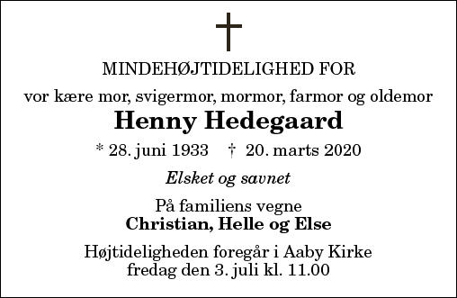 Henny Hedegaard