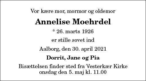 Annelise Moehrdel