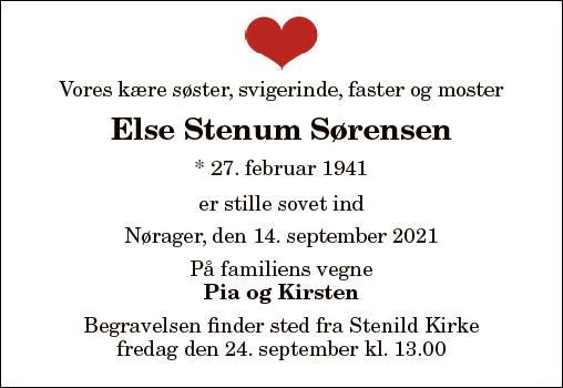 Else Stenum Sørensen