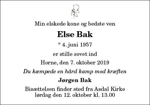 Else Bak