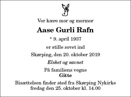 Aase Gurli Rafn