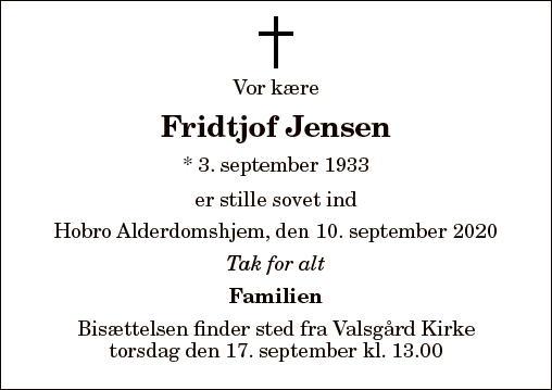Fridtjof Jensen
