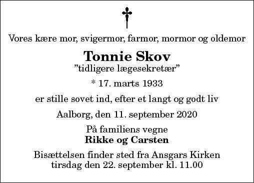 Tonnie Skov