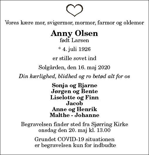 Anny Olsen