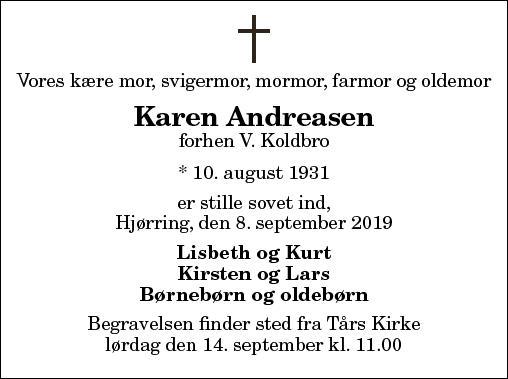 Karen Andreasen