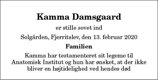 Kamma Damsgaard