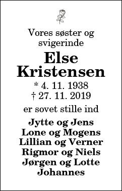 Else Kristensen