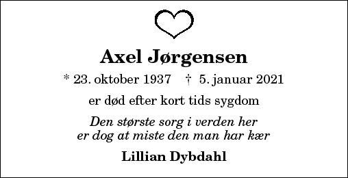 Axel Jørgensen