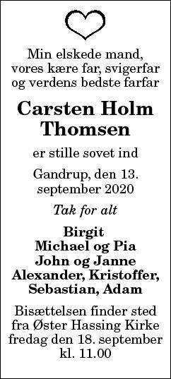 Carsten Holm Thomsen